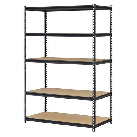 new edsal steel ultra boltless storage rack with 5 shelves
