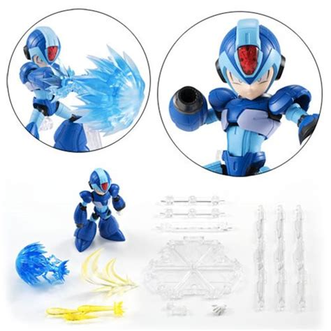 megaman x figure mega x nxedge style figure bandai tamashii