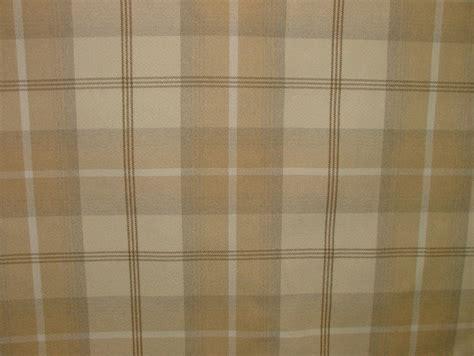 cream tartan curtains balmoral natural cream wool effect washable thick tartan