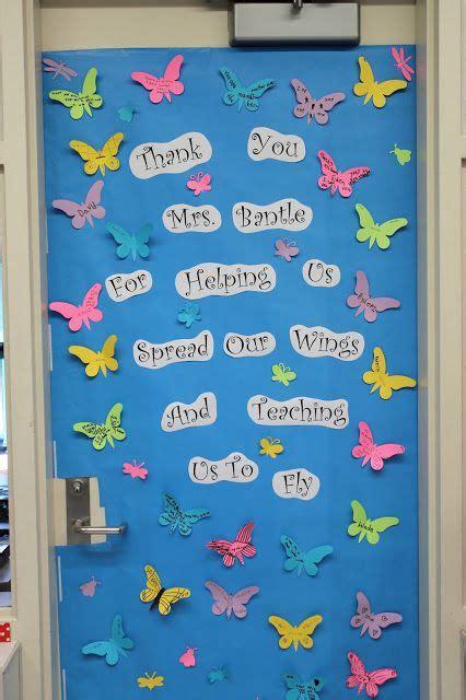 door idea   butterflies kites birds planes