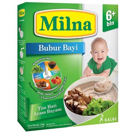 Milna Goodmil Bubur Bayi 6 Bln Beras Merah Pisang jual murah milna bubur bayi tim hati ayam bayam 6m makanan di jakarta