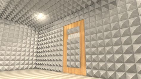 sound proof room anechoic chamber stock footage