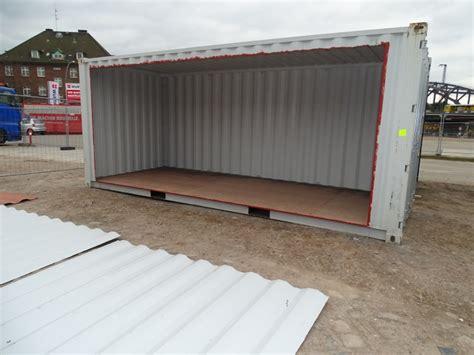 container ausbauen seitenwand ausbauen seitenwand des containers entfernen