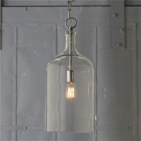 glass jug pendant light glass jug lantern contemporary pendant lighting by