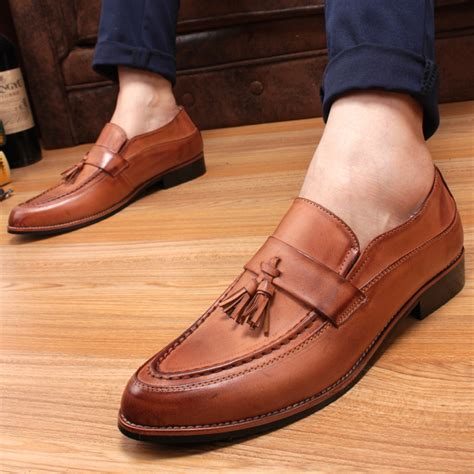 wholesale 2015england mens shoes casual pointed toe