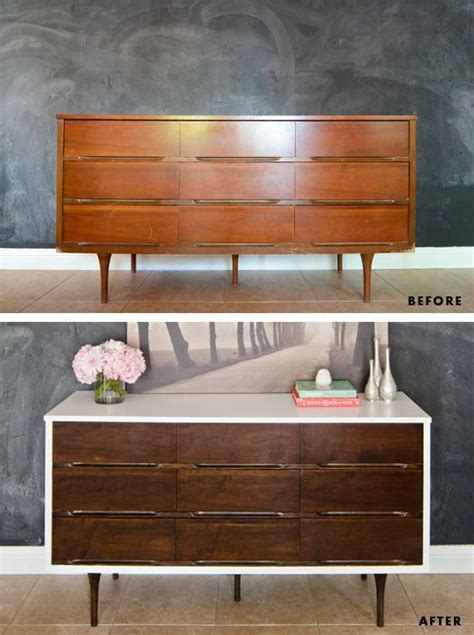 painted mid century modern furniture 17 best ideas about mid century dresser on mid century bedroom midcentury console