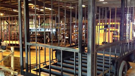 how to build a concession valiant concession trailers steel frame construction