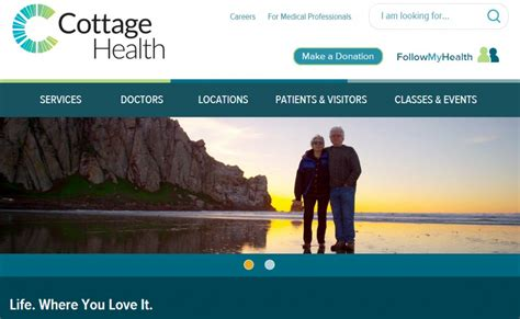 Cottage Health System by Cottage Health Launches Responsive Website For Growing Health System Geovoices