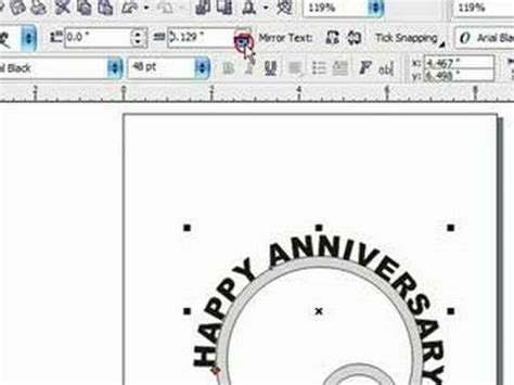 corel draw circular pattern designing scroll saw patterns in corel draw text on a