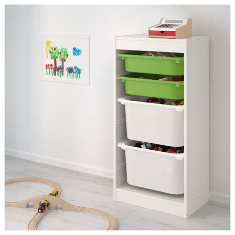 trofast storage combination with boxes white white trofast storage combination with boxes white green white