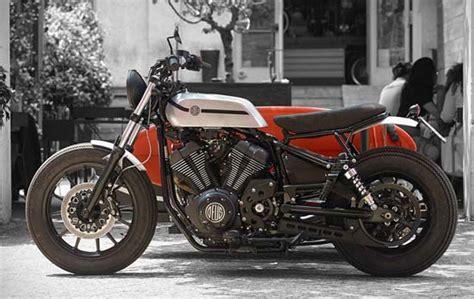 Kaos Deus Ex Machina Ione 19 yamaha xv950 d side motorcycle by deus ex machina luxuryes