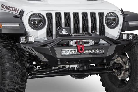 jeep rubicon winch bumper jl winch guard 2018 jeep wrangler forums jl jt