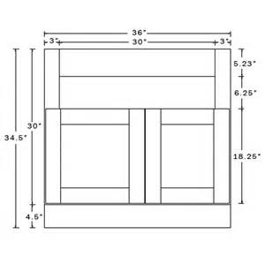 Kitchen Cabinet Roll Out Shelves 36 Inch Farmhouse Apron Sink Base Cabinet In Leo Saddle