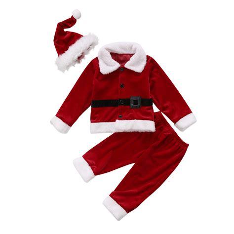 new year costume name 2017 new year kid baby boys costume santa