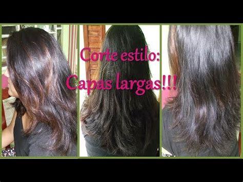 como cortarse el cabello en capas largas c 243 mo cortar el cabello en capas largas 161 hazlo tu misma