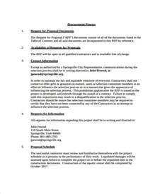 3pl rfp template 100 template request for request sle
