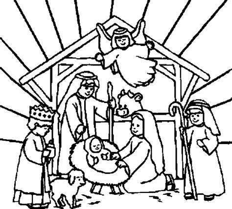 online coloring book color christmas pictures