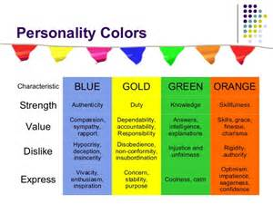 personality color blue true colors personality color personality test blue gold