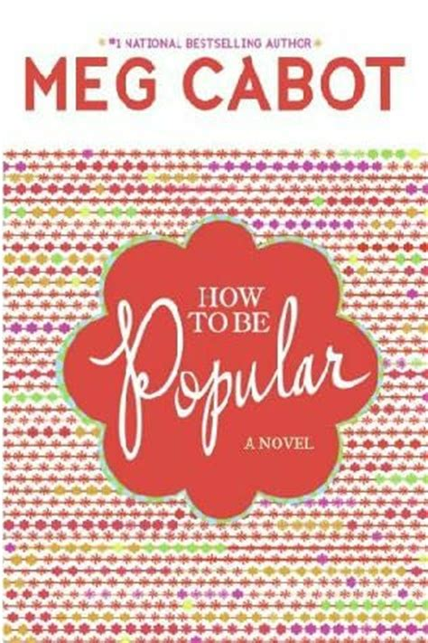 Book Review Of Babble By Meg Cabot by Howtobepopular Book Cover Author Meg Cabot The Idea