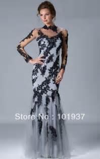 elegant evening dresses with sleeves kzdress