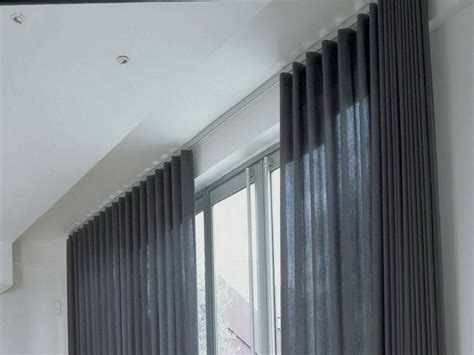 ceiling track curtains ikea ceiling mounted curtain track home design ideas