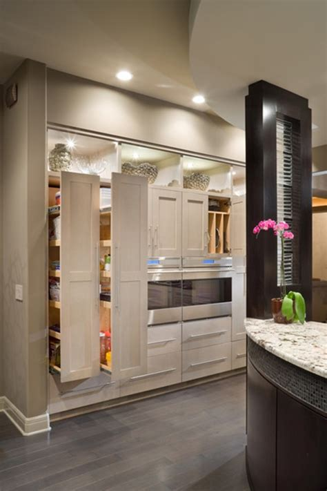 modern kitchen storage contemporary design a pantry closet roselawnlutheran