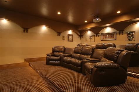complete  home theater decoration  home theater