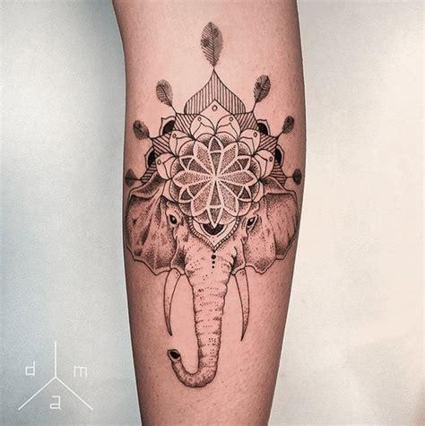tattoo mandala na barriga 25 melhores ideias sobre tatuagens de elefante no
