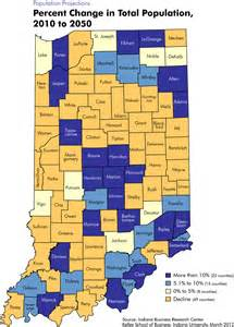 Indiana Zip Code Map by Population Projection Maps Stats Indiana