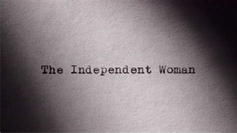 video  independent woman  america  primetime