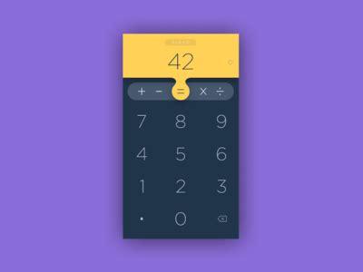 calculator ui calculator app ui calculator app and ui ux