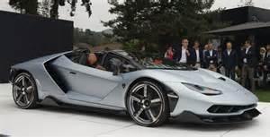 Lamborghini Cabriolet Monterey Car Week 2016 Lamborghini Centenario Roadster