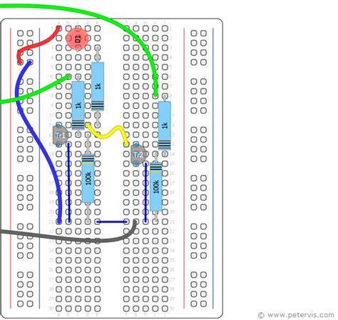 transistor logic gate circuit transistor logic or gate