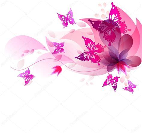 sfondi fiori e farfalle sfondo con farfalle e fiori dell acquerello vettoriali