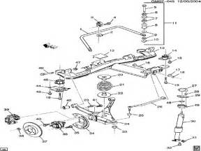 Buick Parts Diagrams Buick Century Rear Suspension Diagram Auto Parts Diagrams