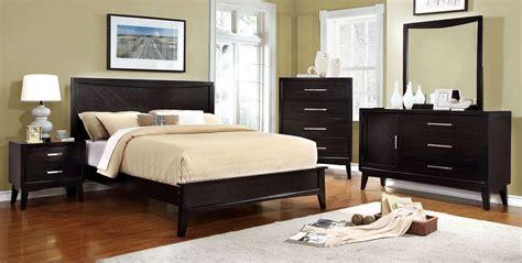 snyder espresso bedroom set  furniture  america coleman furniture