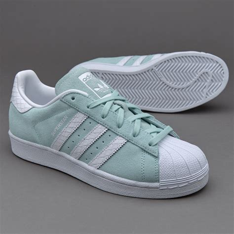 Sepatu Basket Adidas Original sepatu sneakers adidas originals womens superstar mint
