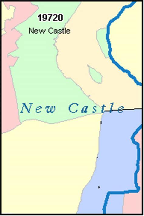 zip code map delaware new castle county delaware digital zip code map