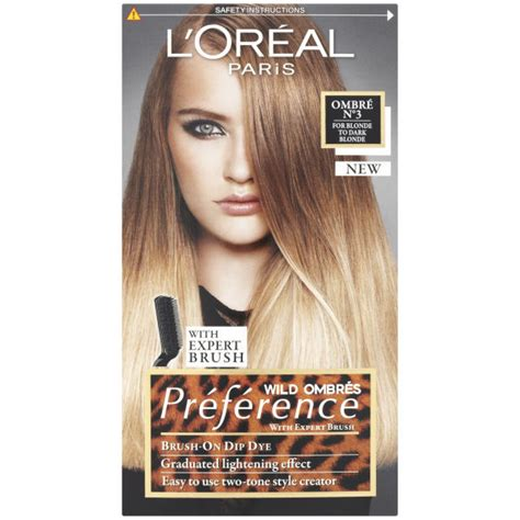 preference wild ombre on short hair l oreal paris wild ombr 233 s pr 233 ference brush on dip dye no3