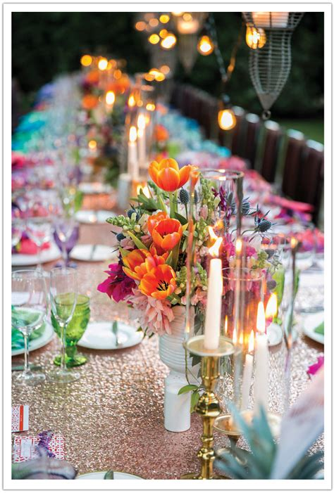 colorful wedding colorful palm springs wedding alchemy events