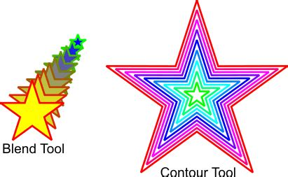 corel draw x4 blend tool applying multiple outlines to an object coreldraw