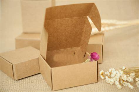 Wedding Jewelry Box by Aliexpress Buy 20pcs 5 5 5 5 3cm Brown Kraft Paper