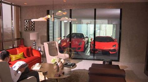 living in a garage cool garage integrated into the living room at the