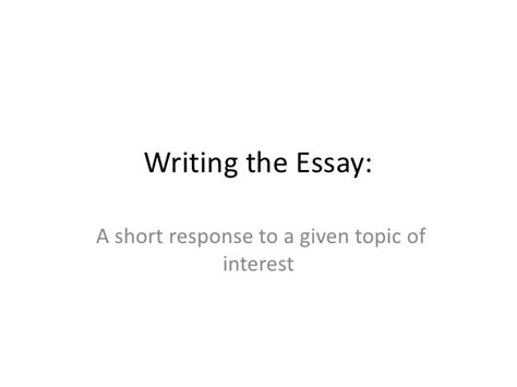 Isee Essay Topics Middle Level by Isee Writing Class