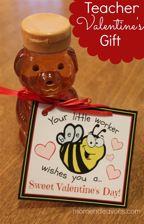 valentines ideas for teachers bee themed valentine s gift