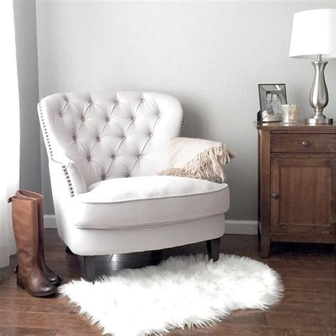 bedroom armchairs best 25 white armchair ideas on pinterest