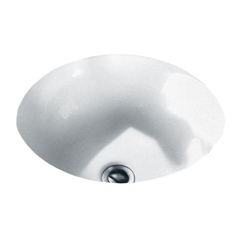 American Standard Undermount Sinks by American Standard Orbit Undermount Bathroom Sink In White