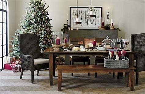 Crate And Barrel Basque Dining Room Set by Crate And Barrel At The Holidays