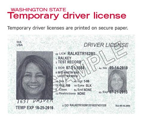 temporary drivers license template can i cross the us canadian border with my temporary edl