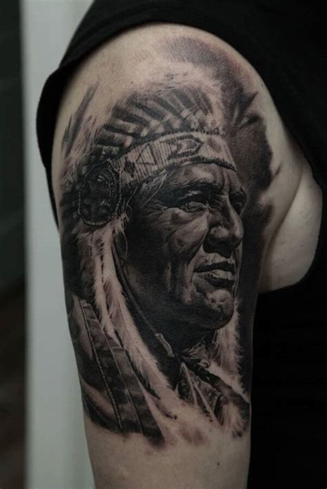 top 10 cool native american tattoos